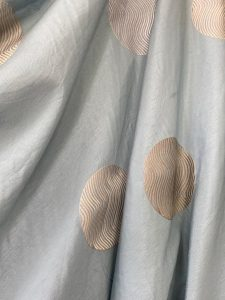 Duck Egg Blue Silk Fabric