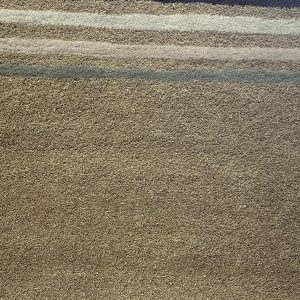 Muted Multi Coloured Striped Rug
