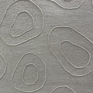 Soft Cream Sculpted Rug