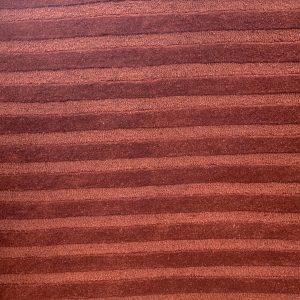 Terracotta On Rust Sculpted Rug