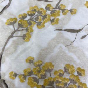 Magnolia Voile Fabric Lemon