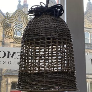 Small Bell Shaped Hanging Ceiling Lamp Shade
